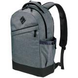 Rucsac Laptop slim, Everestus, GE, 15.6 inch, 600D poliester, gri, saculet de calatorie si eticheta bagaj incluse