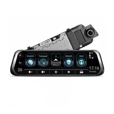 Camera auto tip oglinda retrovizoare Starlight Night Vision, 10 inch, LCD, dual cam foto