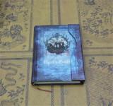 Jurnal / Agenda / Caiet De Notite Stil Vintage HARRY POTTER - Albastru