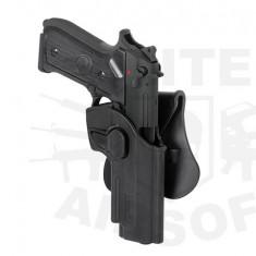 Toc pistol pentru platforma M9/92F - Negru [AMOMAX]