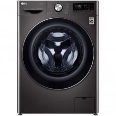 Masina de spalat rufe LG F4WV910P2S, 10.5 kg, 1400 RPM, A+++, Motor Direct Drive, Turbo Wash 360, Smart Diagnosis, WiFi, Negru