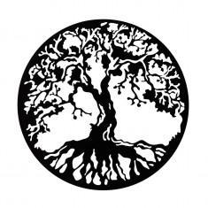 Placheta decorativa perete Copacul vietii Gotic