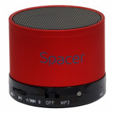 Boxa portabila bluetooth TOPPER 3W Rosu, Spacer SPB-TOPPER-RED