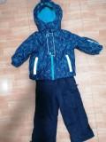Costum de iarna, calduros, impermeabil, Kiki&Koko→ baieti   2-—3 ani  98 cm, Copii
