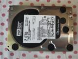 HDD 2 Tb 3,5 inch Western Digital Black Sata3 6Gb/s 64MB Cache., 7200, SATA 3