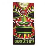 Cumpara ieftin Ciocolata cu nuci si cirese raw bio 70g