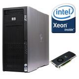 Workstation HP Z800 Intel Xeon HEXA Core X5670, 24 GB DDR3, nVidia Quadro 4000, Peste 16 GB, 1-1.9 TB, Dell