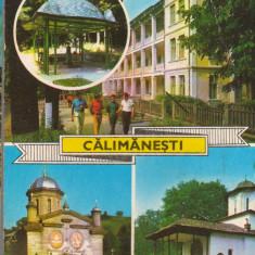 CPIB 15380 - CARTE POSTALA - CALIMANESTI, MOZAIC
