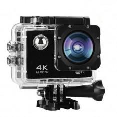 Camera de actiune 4K Sports Cam, 16 mpx, 900 mAh, acumulator detasabil foto