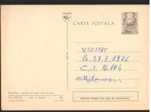 CPI B13013 CARTE POSTALA - SOVATA . VEDERE DIN PARC