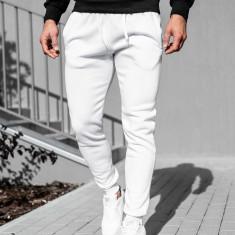 Pantaloni trening bărbați alb Bolf XW01-A