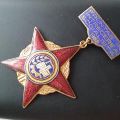 1988 Insigna Fruntas in intrecerea socialista