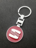 Breloc auto Seat Chei metalic Rosu accesorii chei auto posesori cadou unisex