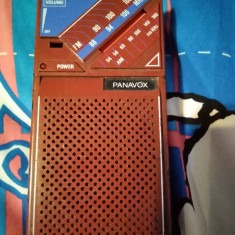 Panavox, aparat radio vechi, nu știu dacă mai este functional