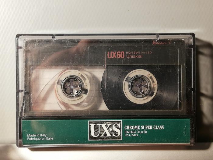 caseta audio SONY Chrome UX-S 90 - made in Japan - stare: Perfecta
