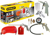 Kit 8 accesorii compresor Stanley - 9045671STN