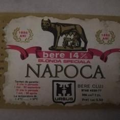 Eticheta bere Romania NAPOCA - Cluj !