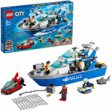 LEGO City Barca de Patrula a Politiei 60277