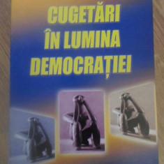 CUGETARI IN LUMINA DEMOCRATIEI - LUCIAN CONSTANTINESCU