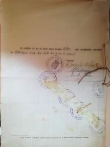 Mapă din bugetul Parohiei Fundenii Doamnei, com. Colentina, jud. Ilfov, 1931