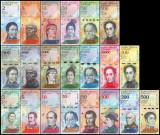 VENEZUELA - 2 - 2007 ===  500 BOLIVARES 2018 , SET DE 21 BANCNOTE NECIRCULATE  .