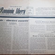 romania libera 8 martie 1953-moartea lui stalin