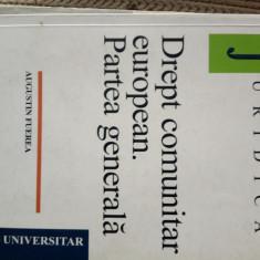 Drept comunitar european. Partea genwrala