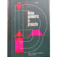 Desen Geometric Si Proiectiv - A. Coliu I. Sintie ,521482