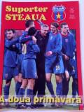 "Revista fotbal - ""Suporter STEAUA"" (Nr.14/2005)- poster Steaua Bucuresti"
