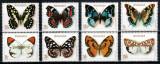Ruanda Rwanda 1979, Mi #974-981 A**, fauna, fluturi, MNH, cota 12 €!, Nestampilat