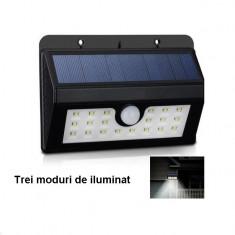 Lampa solara cu senzor, si 3 moduri de iluminare
