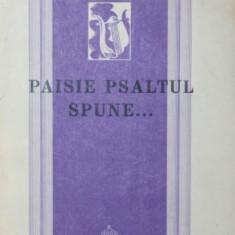 PAISIE PSALTUL SPUNE - GEORGE SILVIU