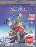 Film Blu Ray 3D: Arthur Christmas ( SIGILAT , dublat + sub. limba romana )