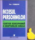 Accesul personanelor la Curtea Europeana a drepturilor omului Nae Androne