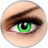 Crazy Emerald Green - lentile de contact colorate verzi anuale - 360 purtari (2 lentile/cutie)