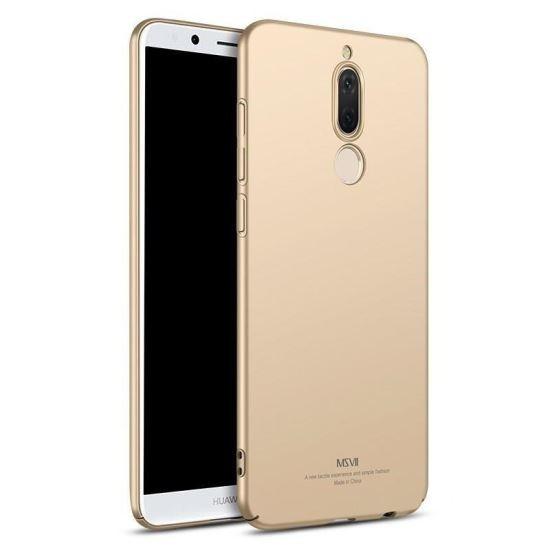 Husa MSVII Aurie Folie Protectie Sticla Pentru Huawei Mate 10 Lite