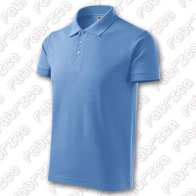 Tricou Polo Cotton - bumbac 100%, 170 g/mp foto
