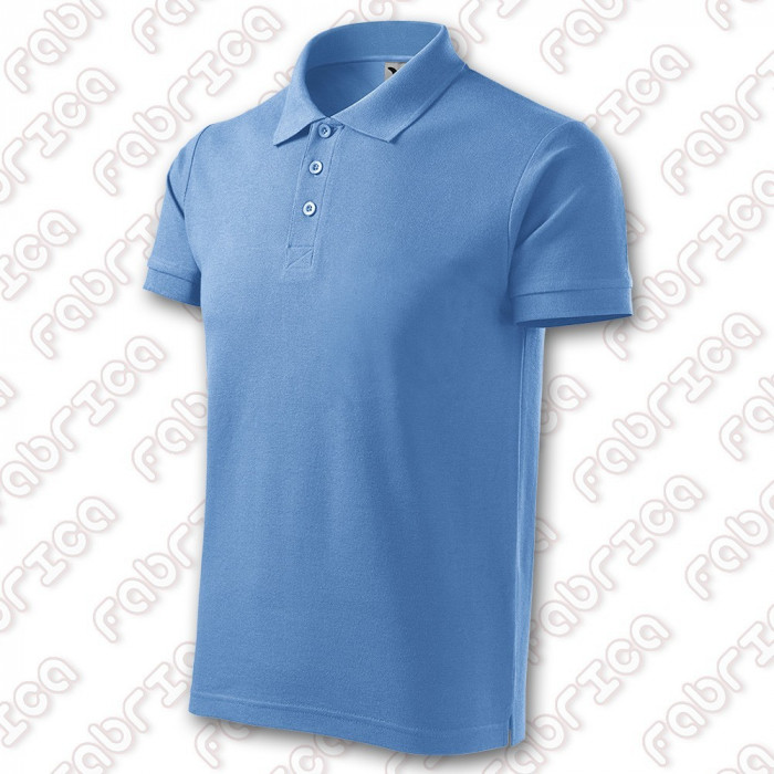 Tricou Polo Cotton - bumbac 100%, 170 g/mp