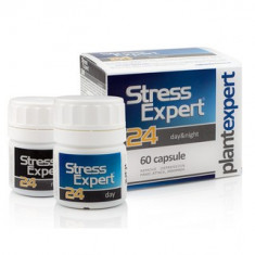 STRESS EXPERT 24 Day&Night – supliment antistress 100% natural – 60 capsule