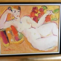 Tablou Ag.COSTINESCU - Nud,ulei/p/c