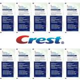 Set 10x Plicuri, Benzi Albirea Dintilor, Crest Whitestrips Supreme Professional, 14% Concentratie