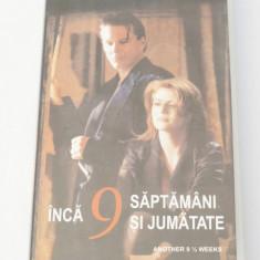 Caseta video VHS originala film tradus Ro - Inca 9 Saptamani si Jumatate