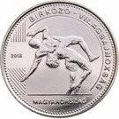 Ungaria 50 Forint 2018 - Campionatul Mondial de Lupte,  27.4 mm, KM-New UNC !!!