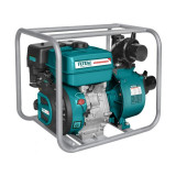 Motopompa benzina Total, 7 CP, 208 CC, 3.6 L, 1000 l/min, inaltime 32 m, adancime 8 m, pornire manuala