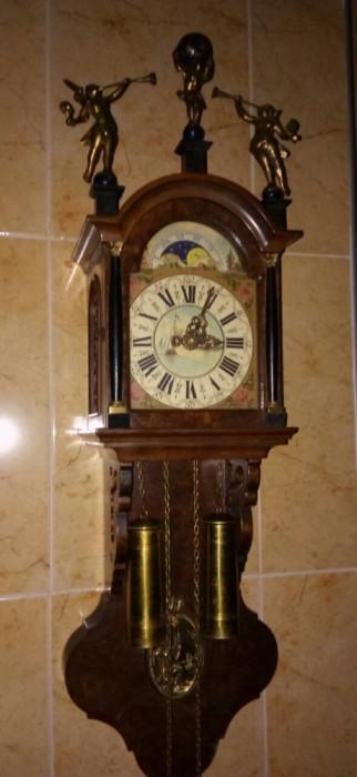concept nou prețuri grozave top fashion Pendula antica,ceas de perete cu 2 greutăți   Okazii.ro