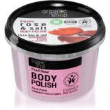 Organic Shop Organic Rose & Salt peeling corporal cu saruri