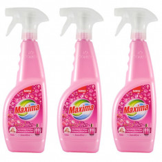 3 x Sano Maxima Sensitive, Balsam pentru rufe parfumat cu pulverizator, 3x 750ml