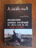 Accidentele aviatice romanesti din ultima suta de ani (aviatie)  / R2F