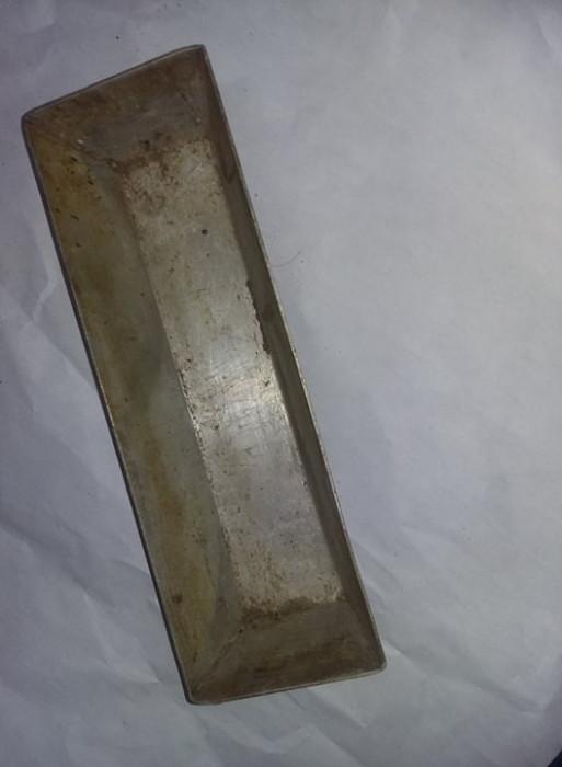 TAVA VECHE cozonac aluminiu tabla groasa,tava chec,pandispan veche,T.GRATUIT