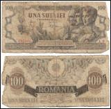 România - 100 lei (una sută lei) - decembrie 1947 (B0107) - starea care se vede